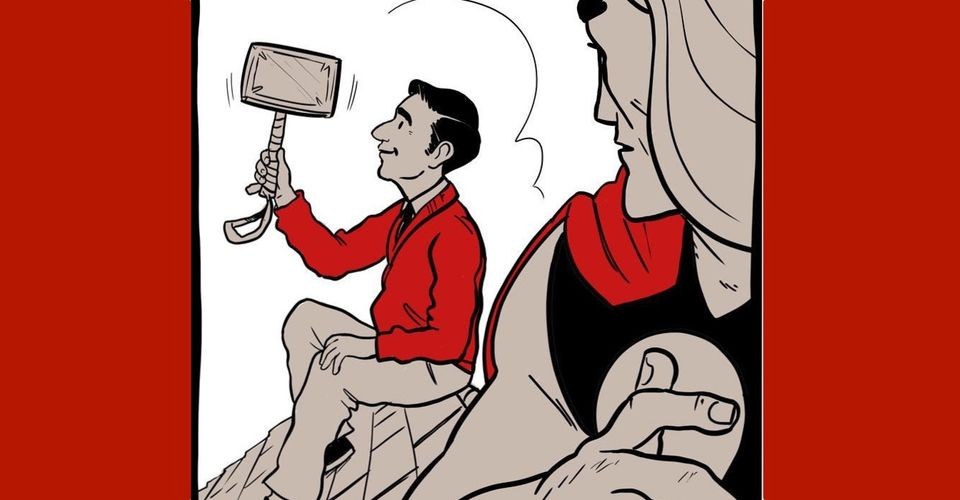 Mr Rogers Lifts Thor S Hammer In Wholesome Fan Webcomic