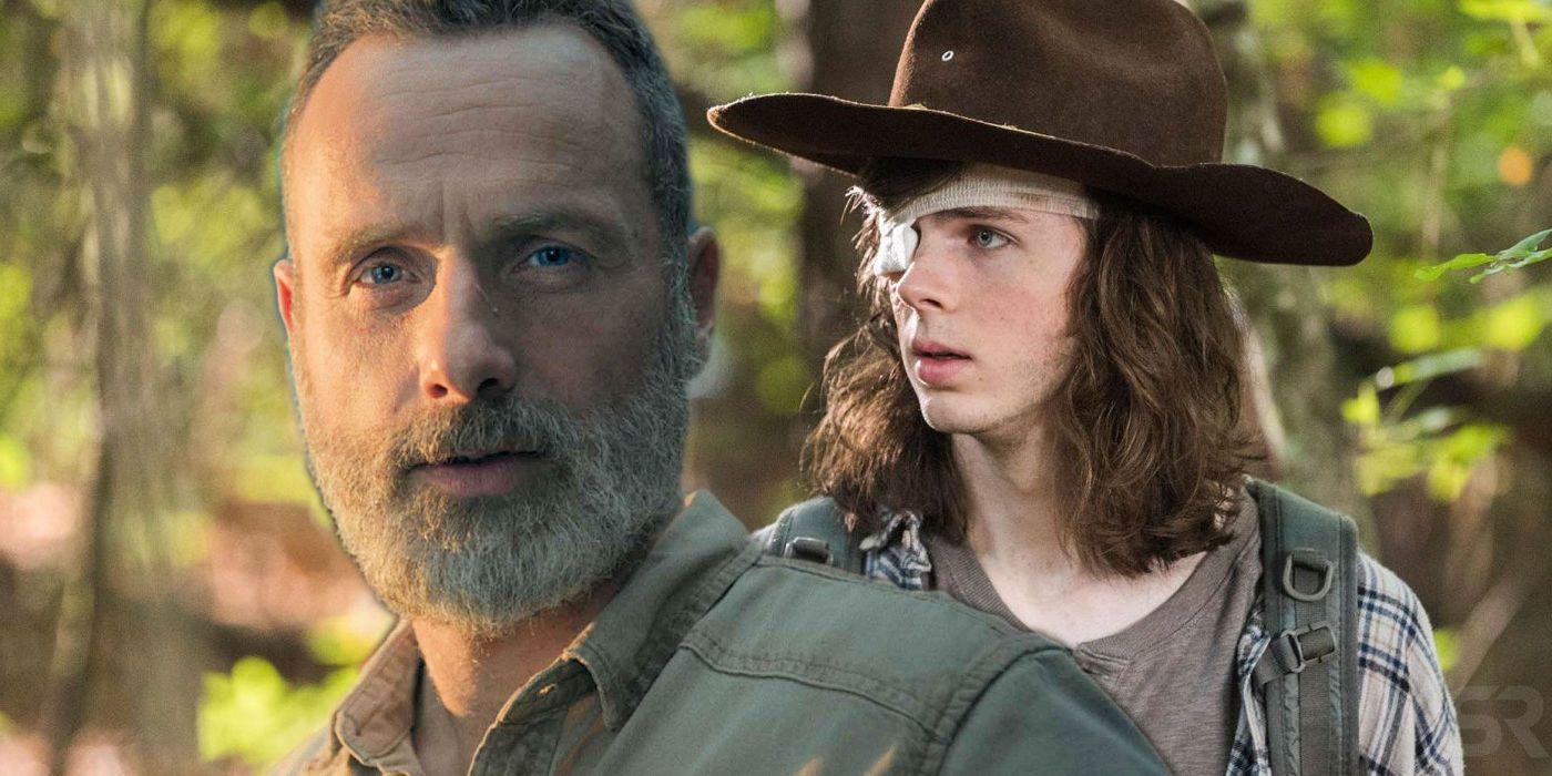 The Walking Dead Carl Tot
