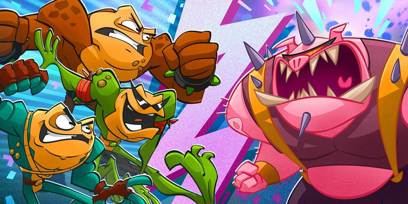 How Battletoads Difficulty Compares To The Original Games