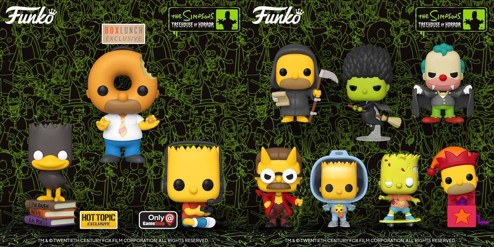 Funko Pop Simpsons Animation Homer Jack-in-The-Box