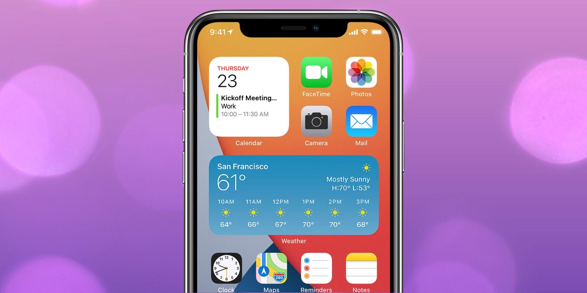 add news widget iphone