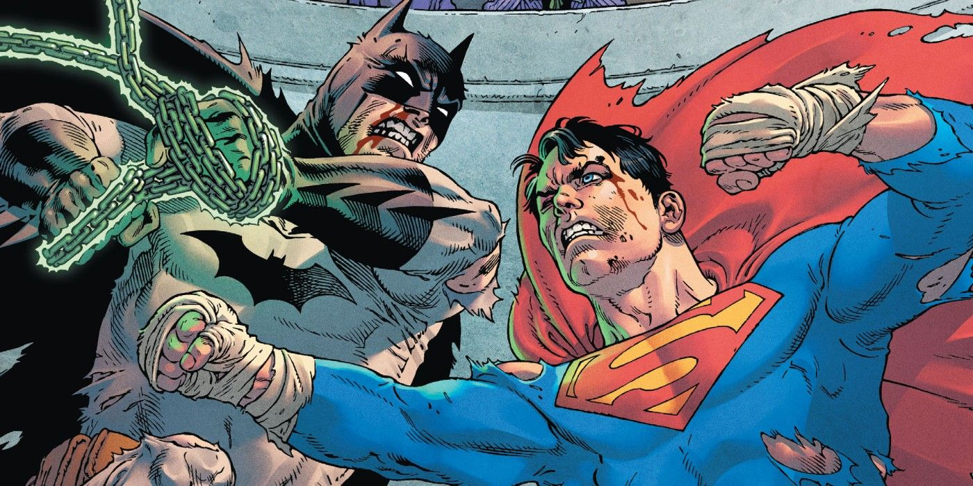 Superman Just Killed Batman So Easily It S Not Even Funny