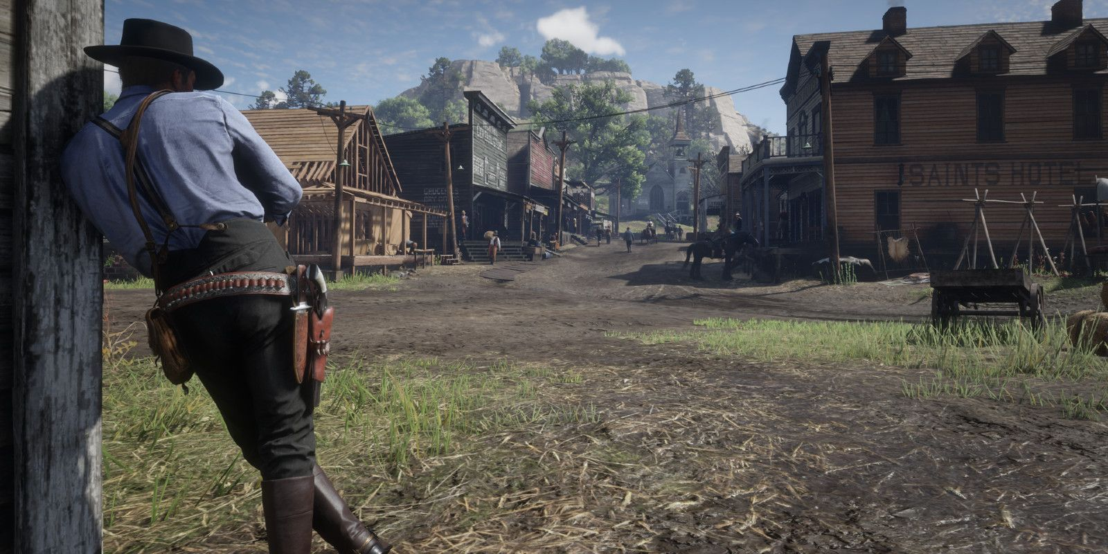 Red Dead Redemption 2 Looks Like A Blockbuster In 1917-Style Trailer