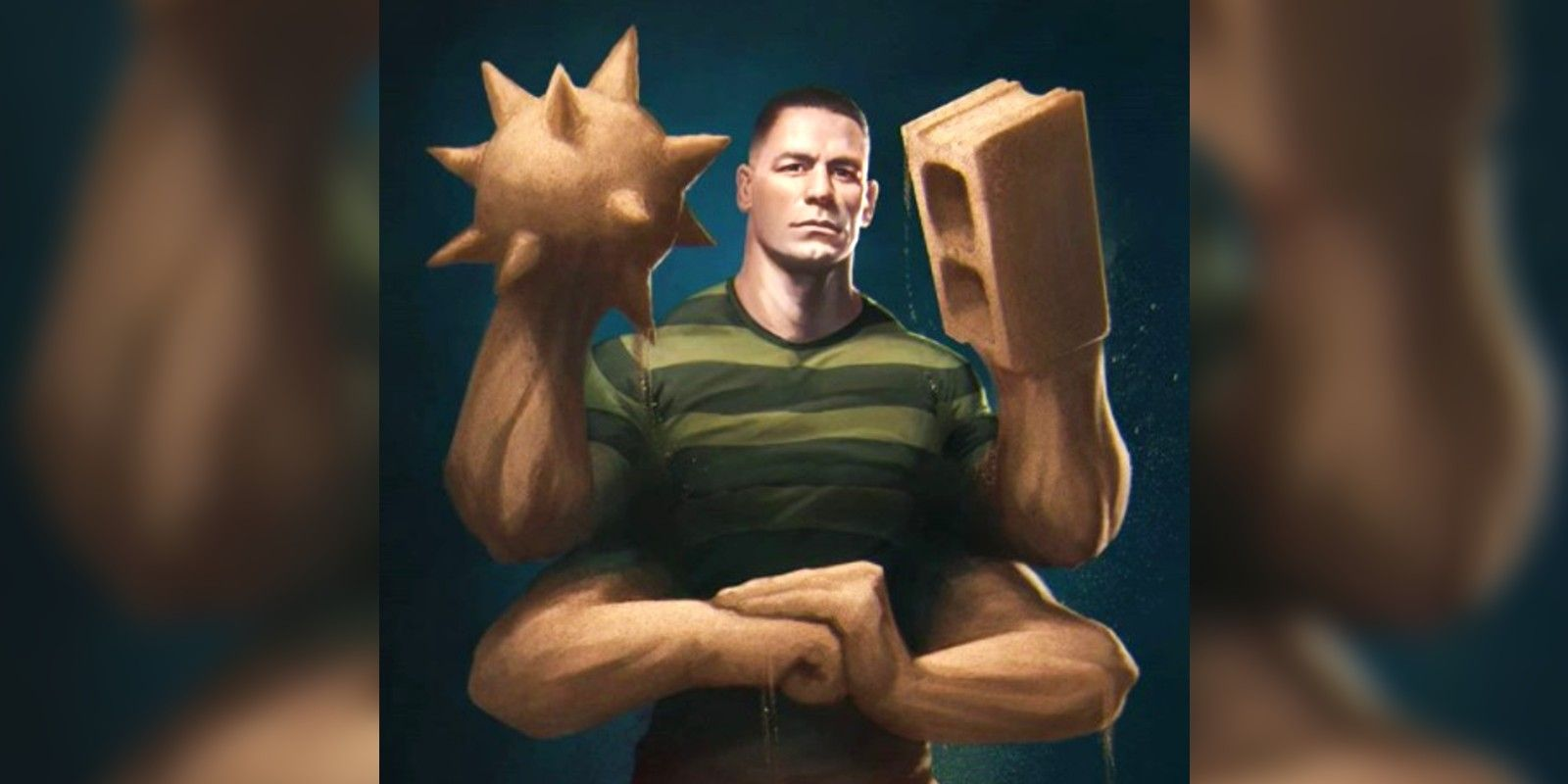 What John Cena Could Look Like As Marvel Villain Sandman