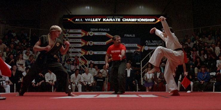Cobra Kai fatos sobre Karate Kid