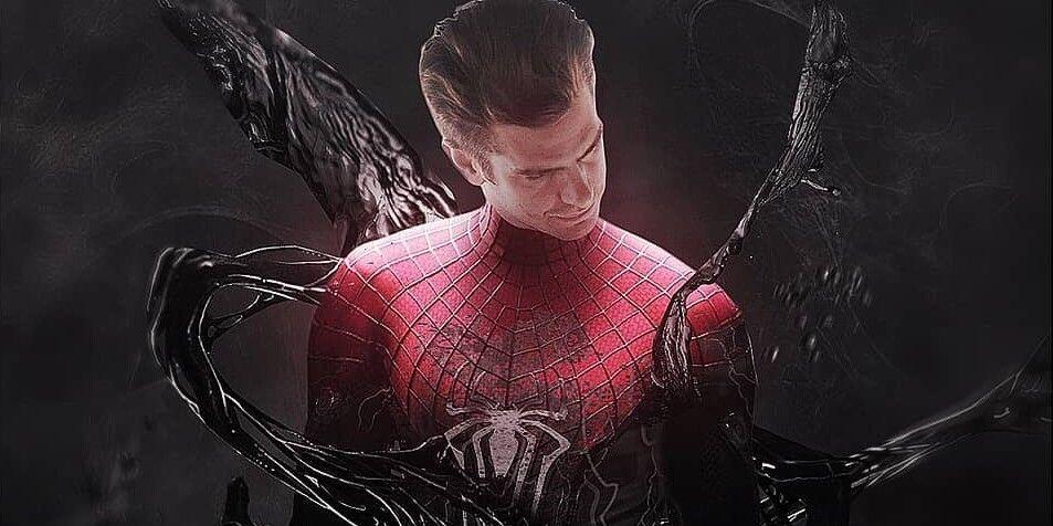 Venom Infects Andrew Garfield In Amazing Spider-Man 3 Fan Poster