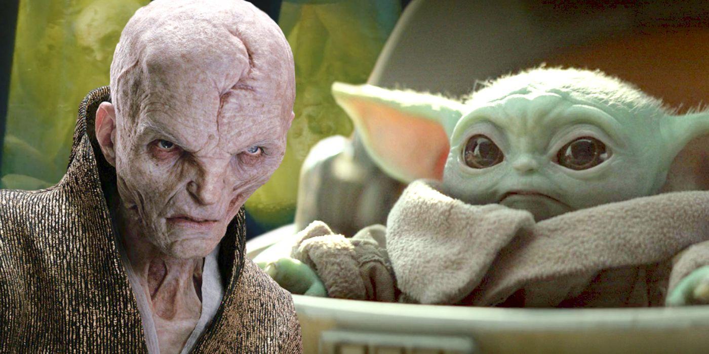 The Mandalorian Theory Baby Yoda Is Used To Create Snoke