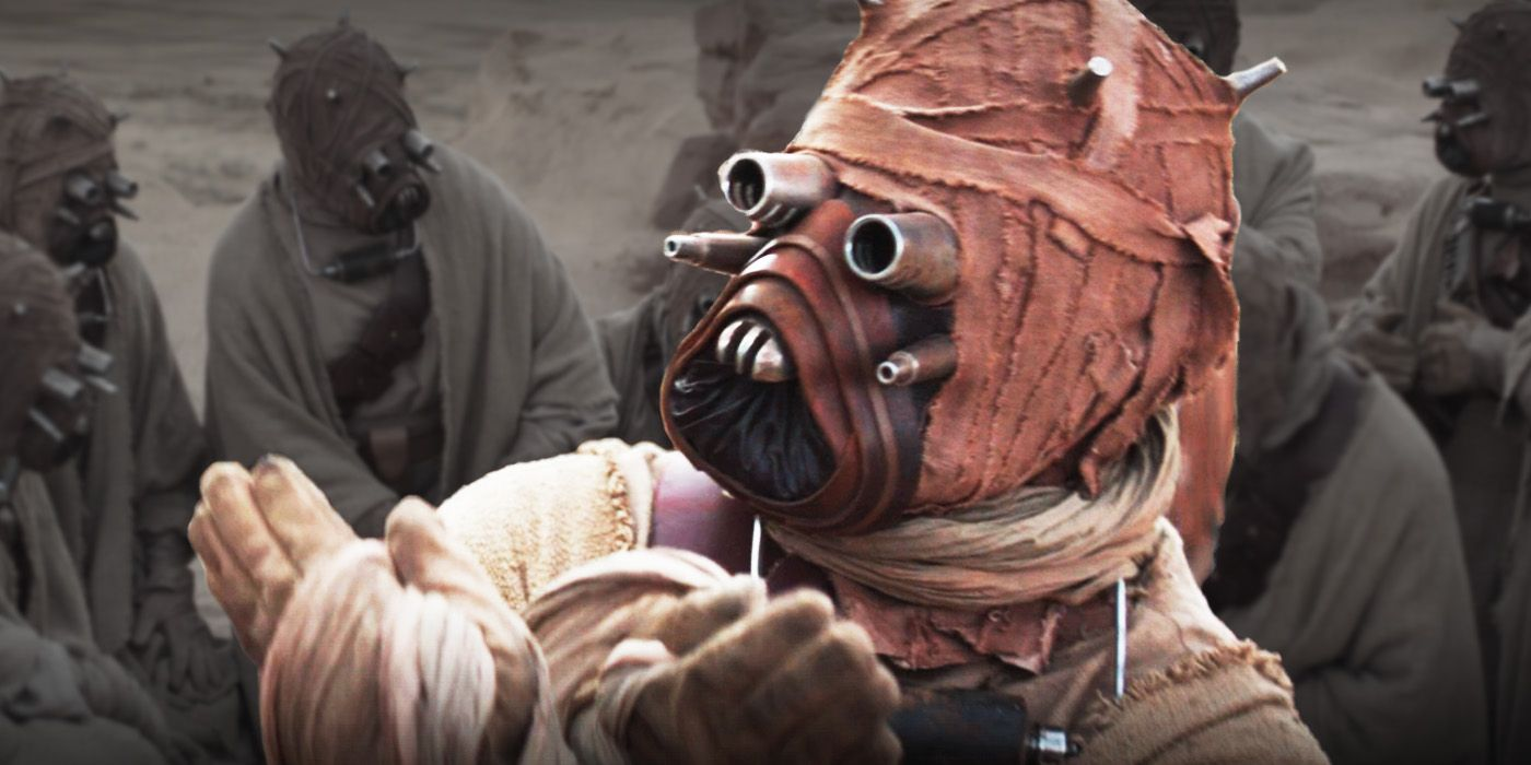 The Mandalorian What Tusken Raiders Look Like Under Their Masks