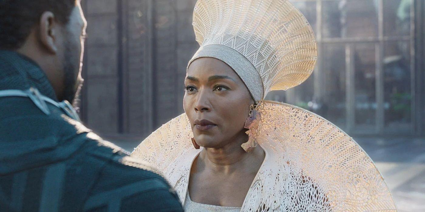 Angela Bassett in Black Panther.'