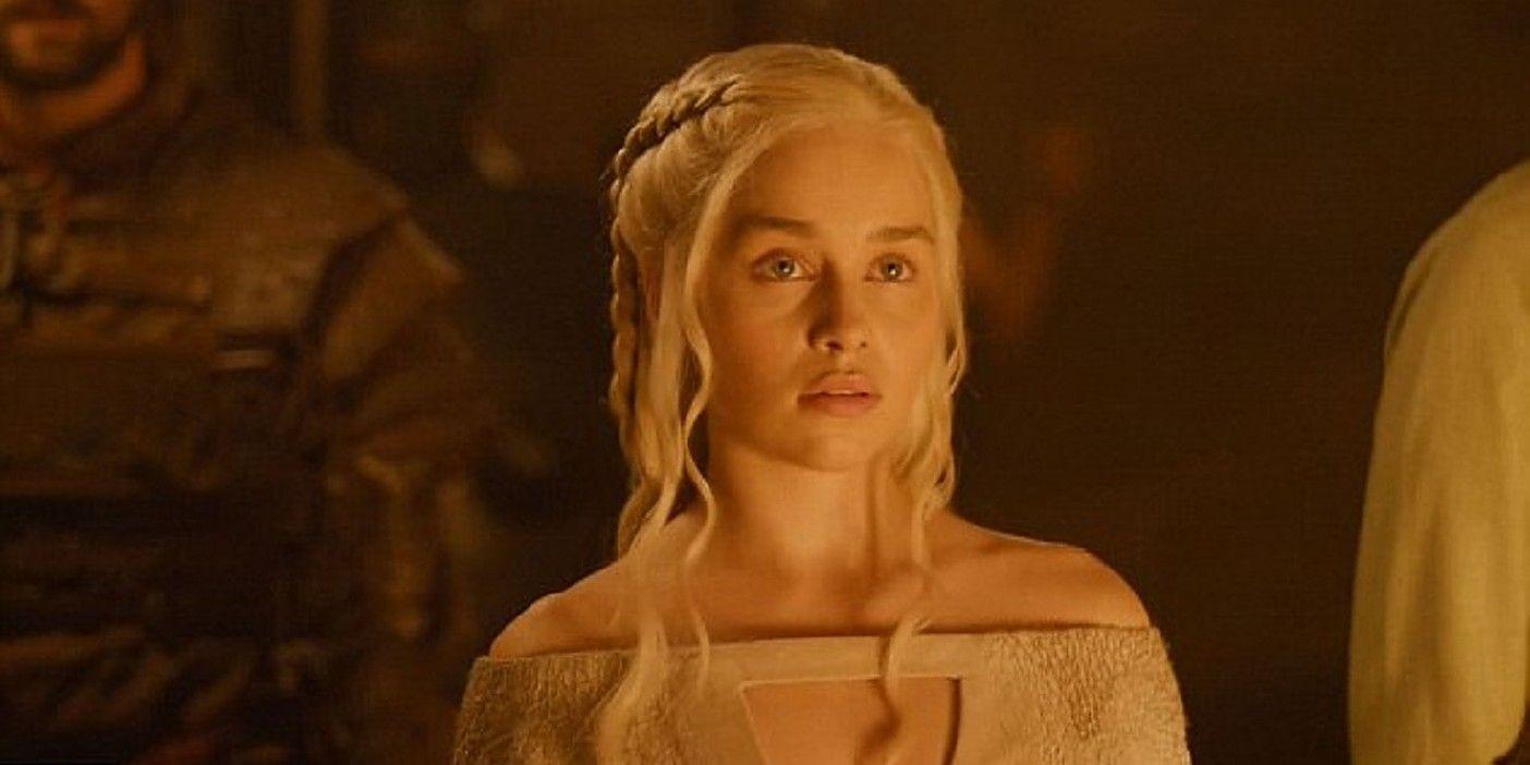 Game of Thrones: Emilia Clarke Improvised Season 5 Valyrian Monologue