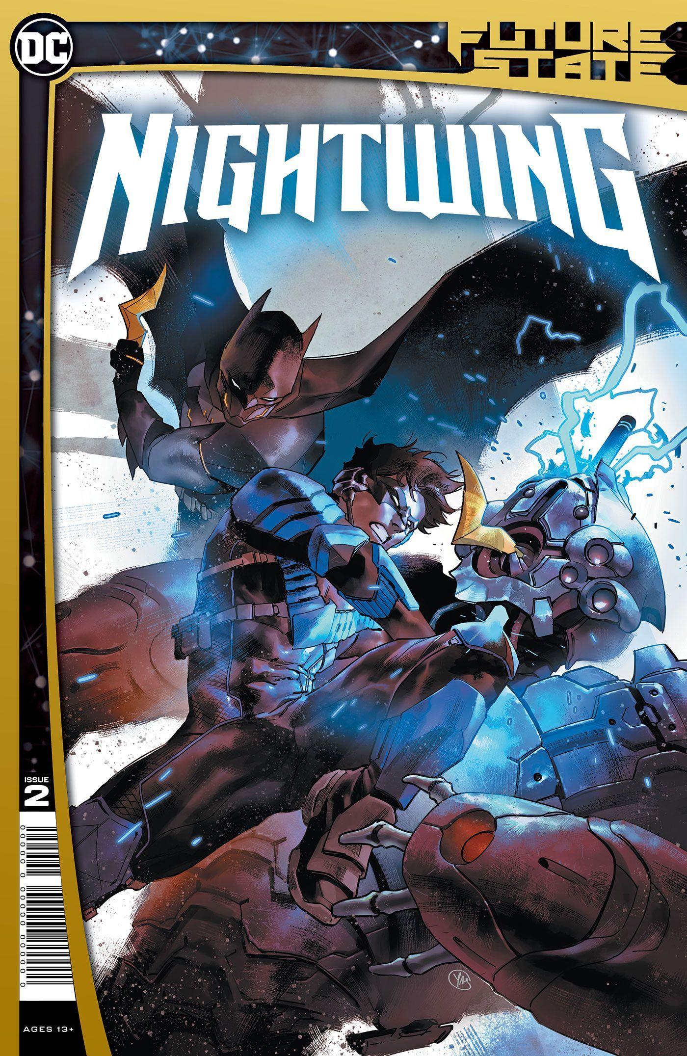 A futura equipe de heróis de Nightwing inclui Duas-Caras 1