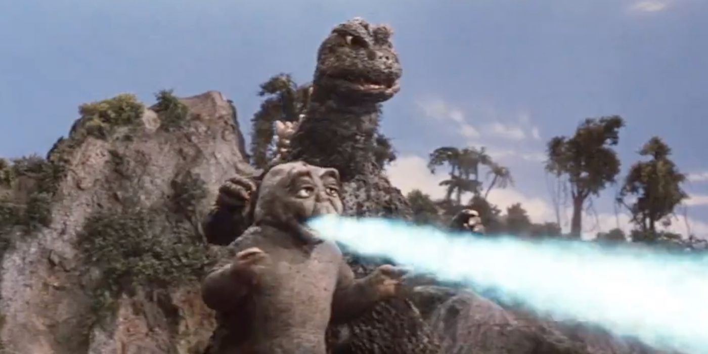 Godzilla Offers Parenting Tips in Hilarious New Video with His Son