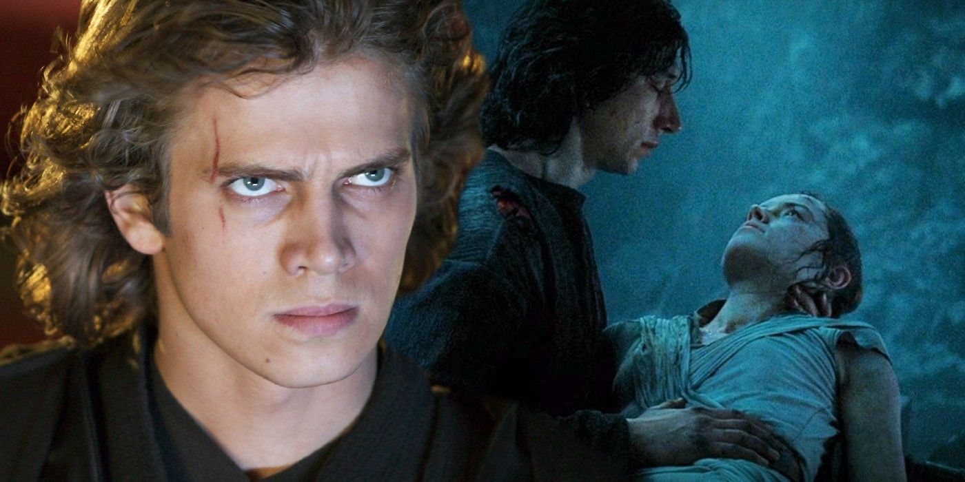Star Wars Theory Rise Of Skywalker S Dyad Happened Because Of Anakin