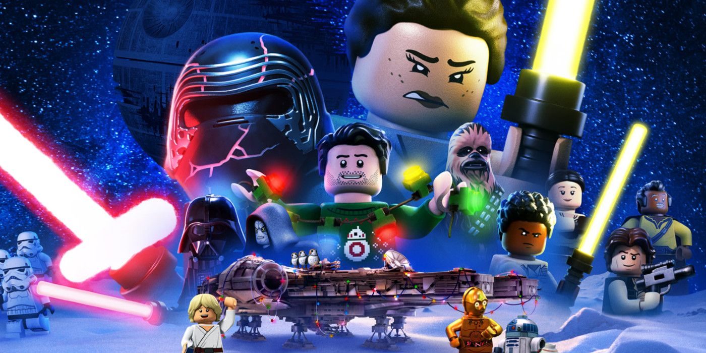 every star wars character in the lego holiday special