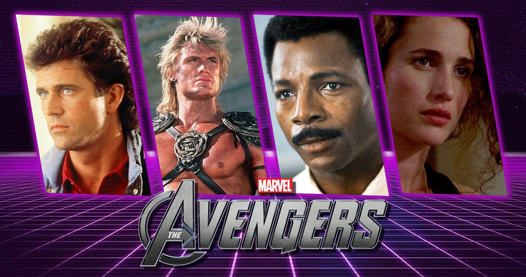 Retro-Cast: Casting The Avengers Movie In The 1980s  ScreenRant