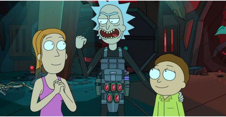 Eb White Rick And Morty