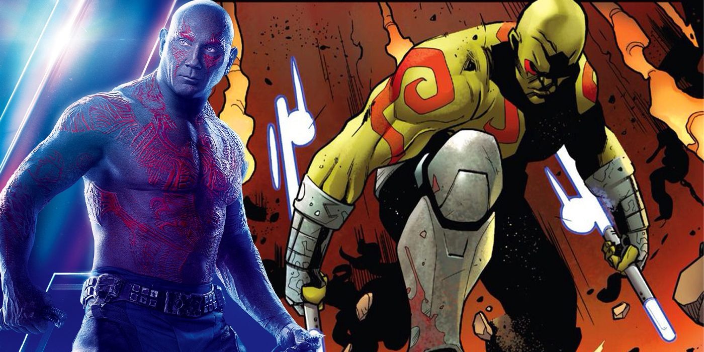 Guardians of the Galaxy's Drax Reveals His Secret Superpower