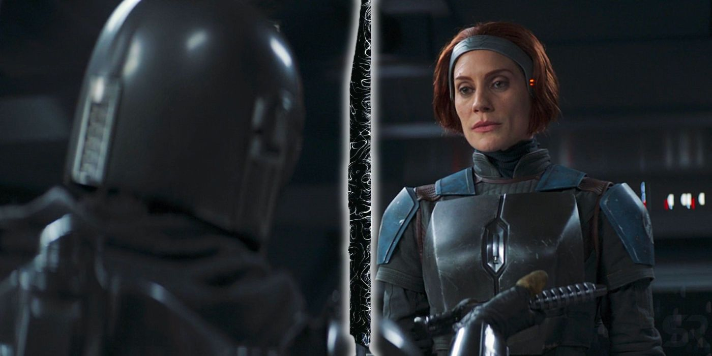Why The Mandalorian Can't Give Bo-Katan The Darksaber (Is It A Plot Hole?)