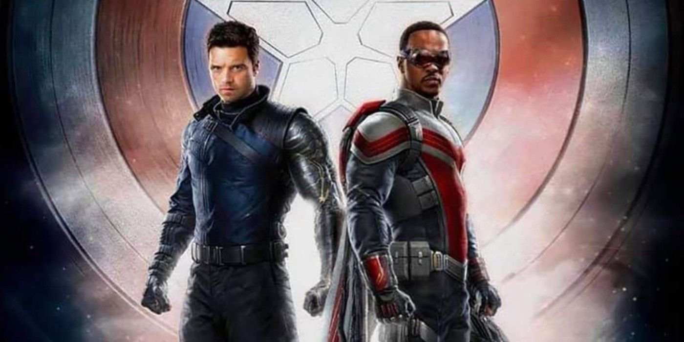 Falcon & Winter Soldier Merch Shows Sam Wilson's New Costume With Wings