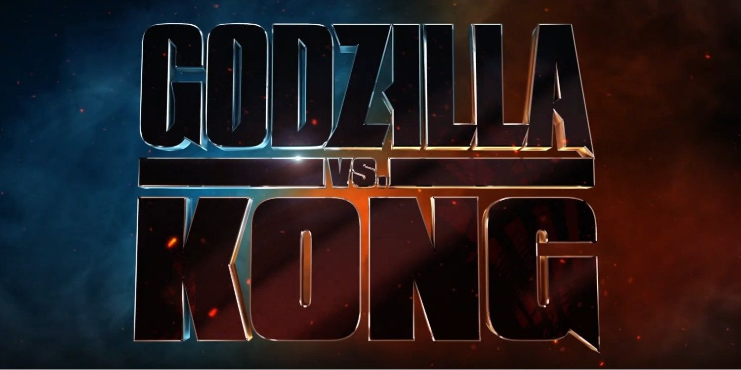 Godzilla Vs Kong Official Logo Is a Neat Combination Of Past Movies