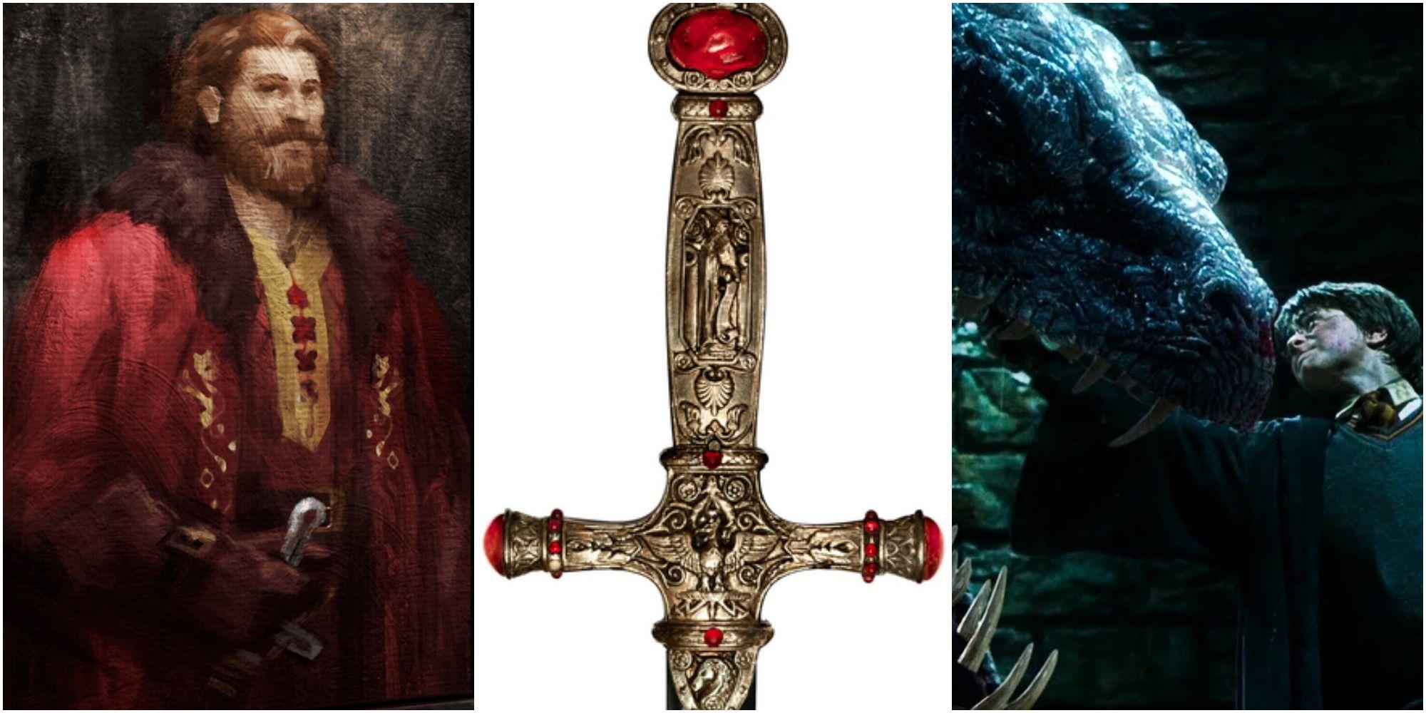 harry potter 10 secrets about the sword of gryffindor