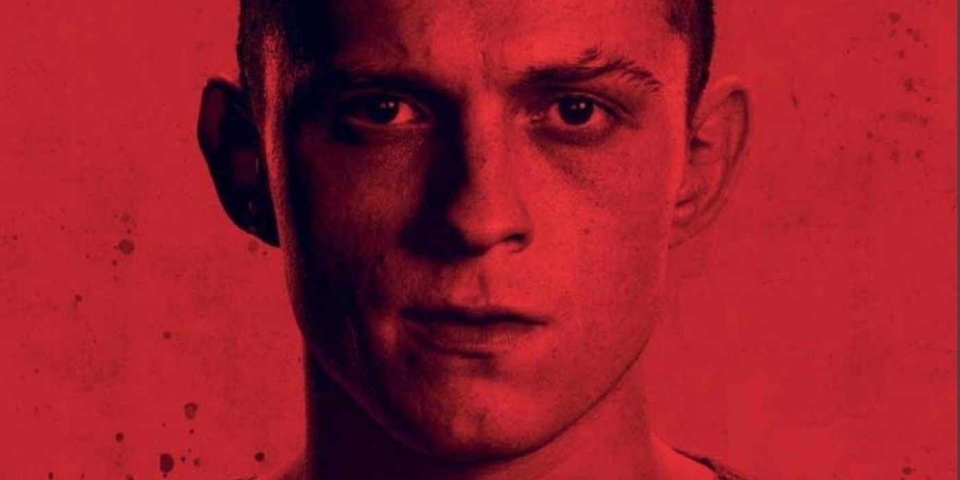 Tom Holland's Cherry Character Labeled A Junkie In New Poster
