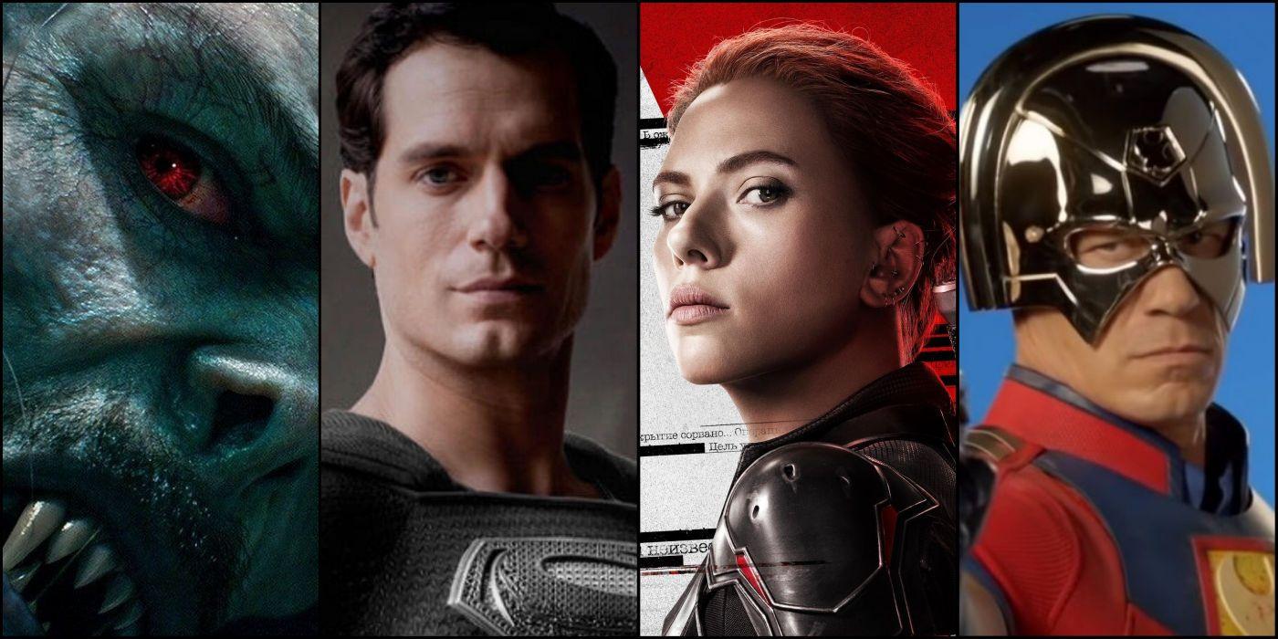 Every Upcoming Superhero Movie In 2021   Screen Rant