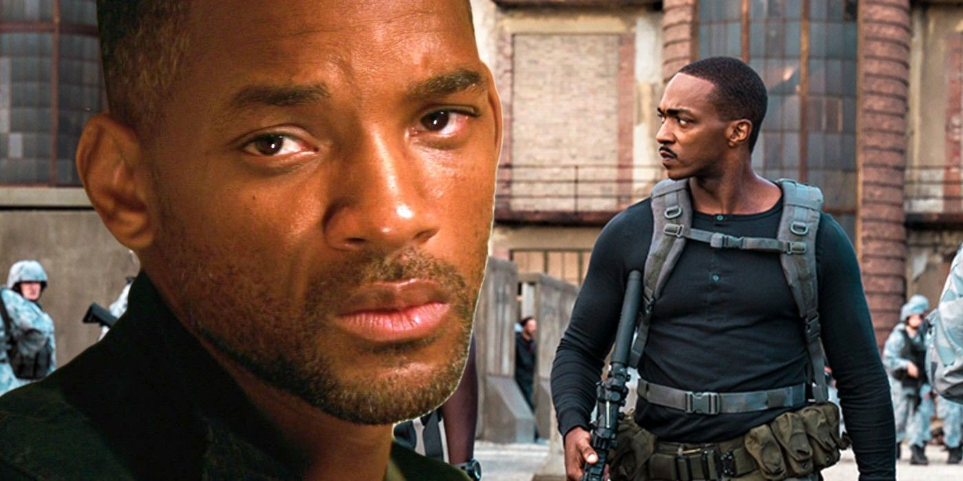 Anthony Mackie Shares Funny Story About Getting Punched By Will Smith