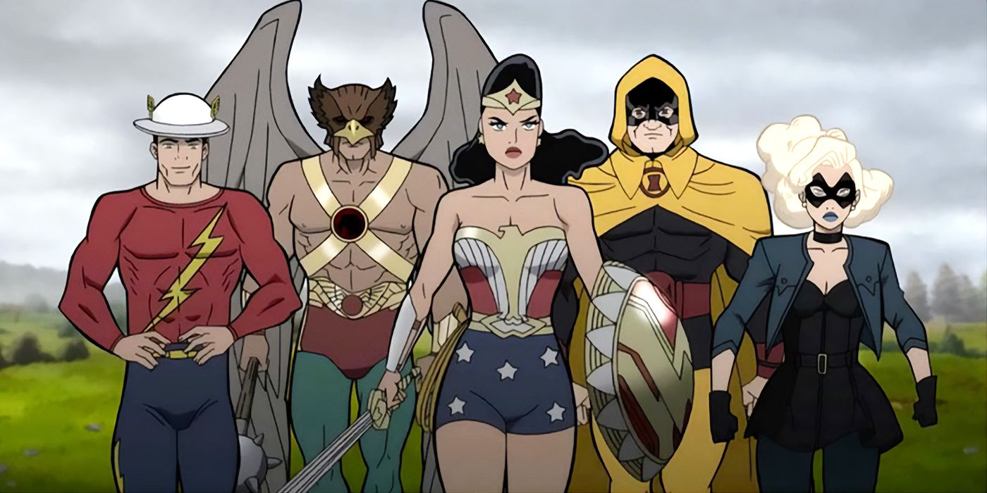 Wonder Woman to Face Nazis in Justice Society World War 2