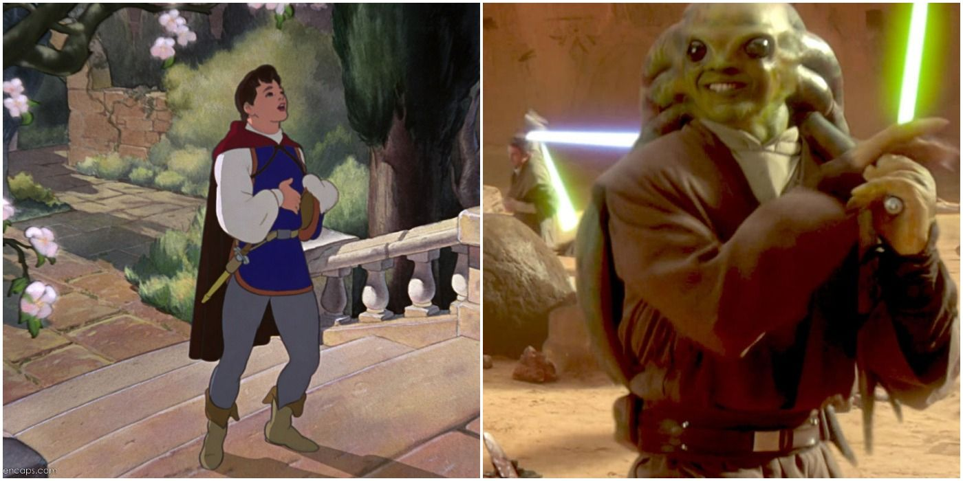 Disney Princes & Their Star Wars Counterparts | ScreenRant