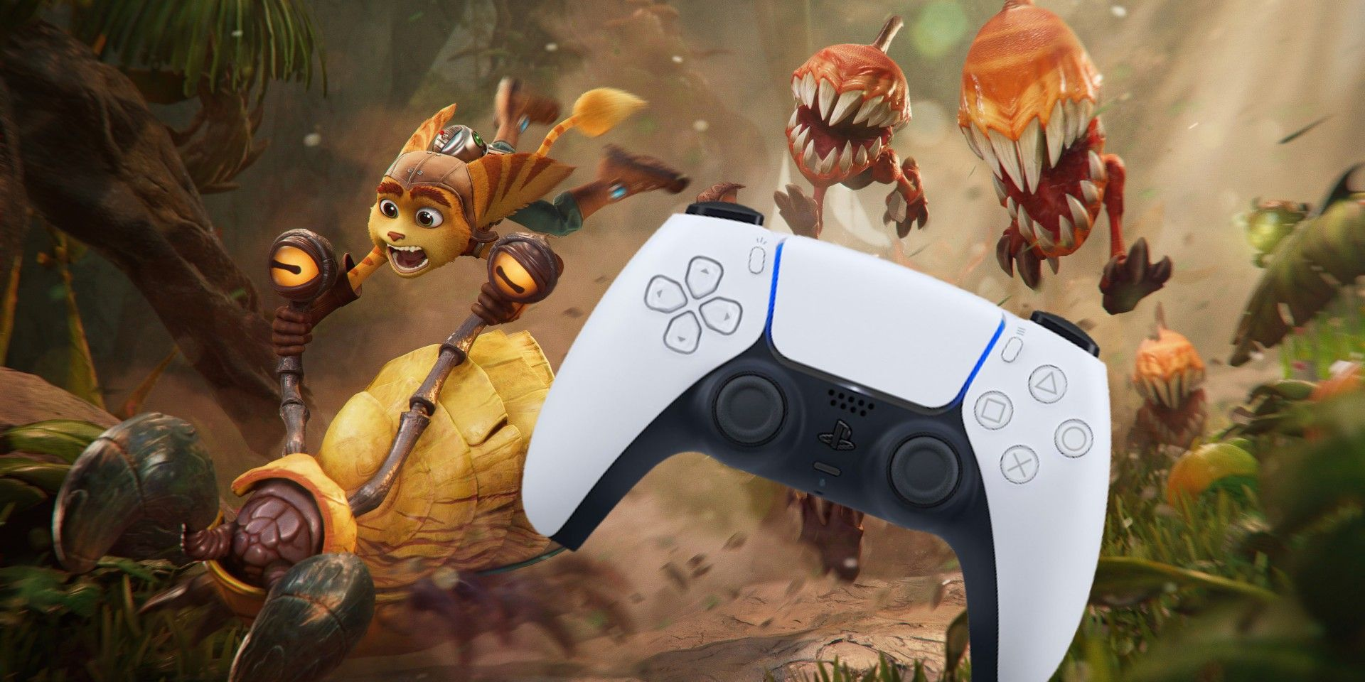 The PS5 Controller Was Made for Ratchet & Clank: Rift Apart