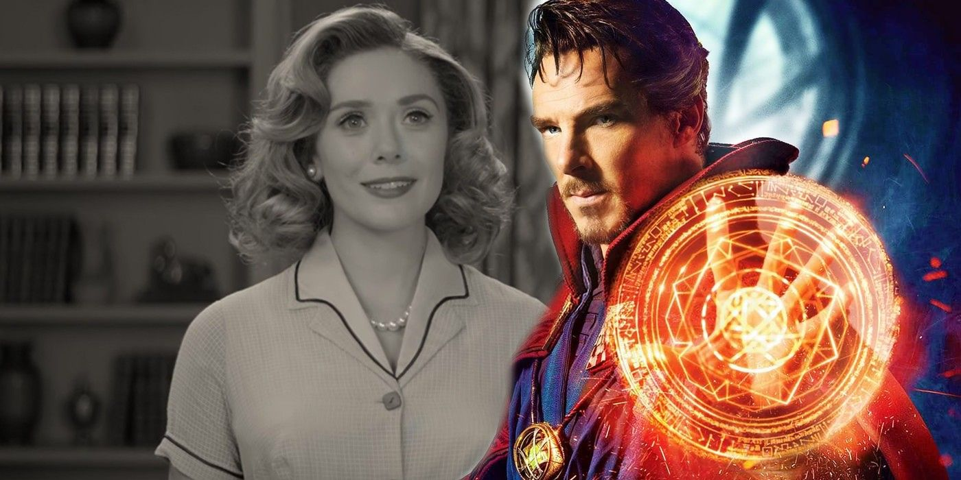 WandaVision Theory: Doctor Strange Breaks Wanda Out Of Her Fantasy
