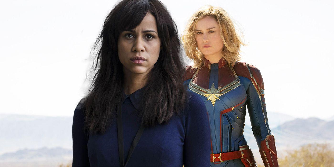 Captain Marvel 20 Casts Zawe Ashton As New MCU Villain