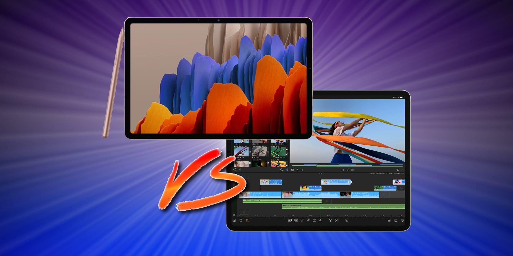 Galaxy Tab S7+ Vs. iPad Pro 12.9 (4th Gen): Best $1,000 ...