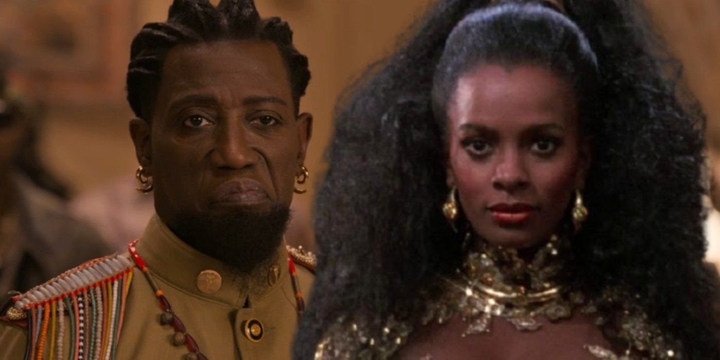 Coming 2 America: Wesley Snipes' Role Perfectly Pays Off Original Movie Joke Side-by-Side Comparisons