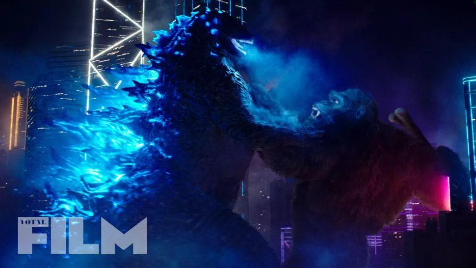 Imagens de Godzilla vs. Kong revelam novos olhares em néon na grande luta do filme 1