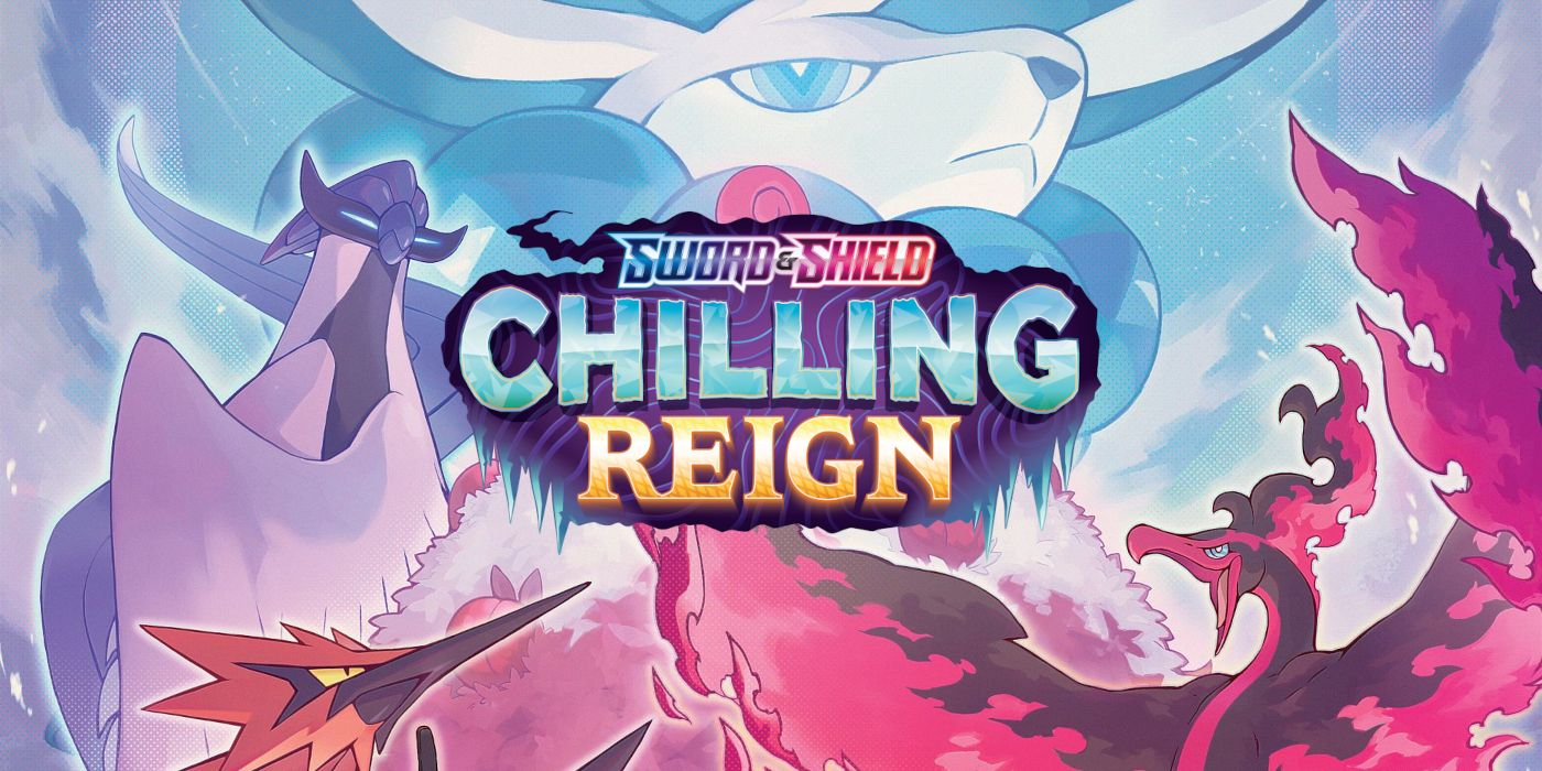 Pokémon TCG Sword & Shield Chilling Reign Adds Galarian Legendaries