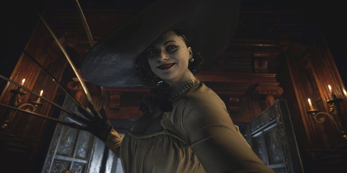 Resident Evil Village Marketed With Life-Size Lady Dimitrescu Display