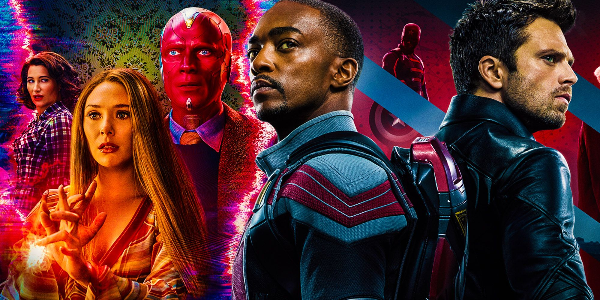Marvel Unveils Wandavision, Falcon & Winter Soldier Awards Campaign Posters