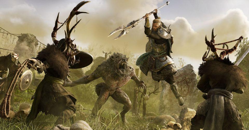 AC Valhalla Wrath of the Druids Screens Confirm Sickles & Werewolves