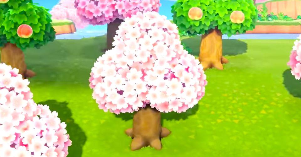 Animal Crossing Every Cherry Blossom Diy Recipe April 2021