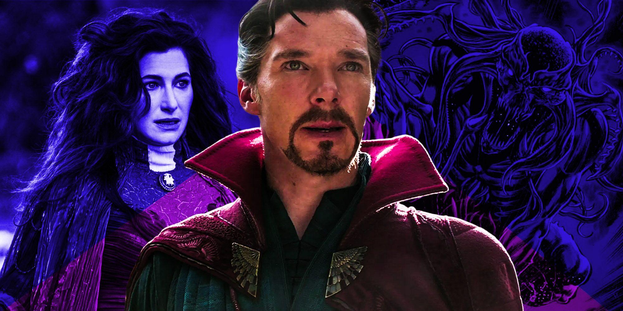 Agatha Harkness' WandaVision Magic Hinted At Doctor Strange 2's Villain