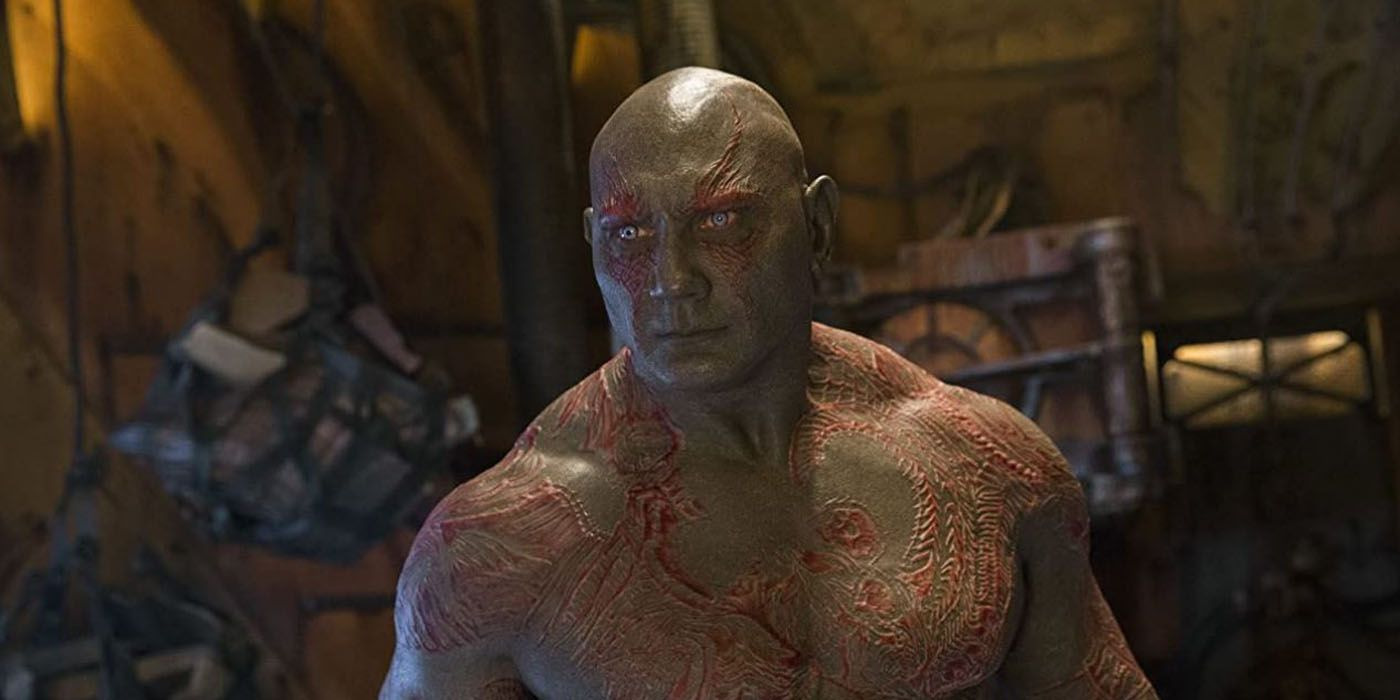 Dave Bautista Says Drax Won't Die in GOTG 3 But Should Be Recast