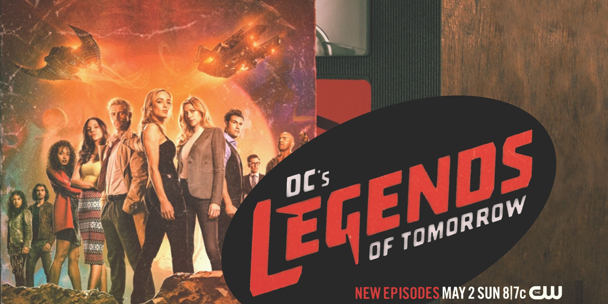 DC's Legends Of Tomorrow Season 6 Poster Showcases 90s Vibes
