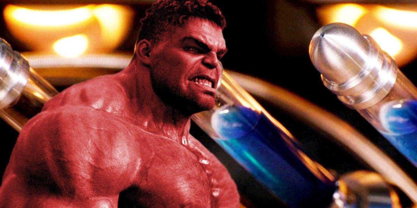 The MCU Can Still Do Red Hulk (Despite Zemo Smashing The Serum)