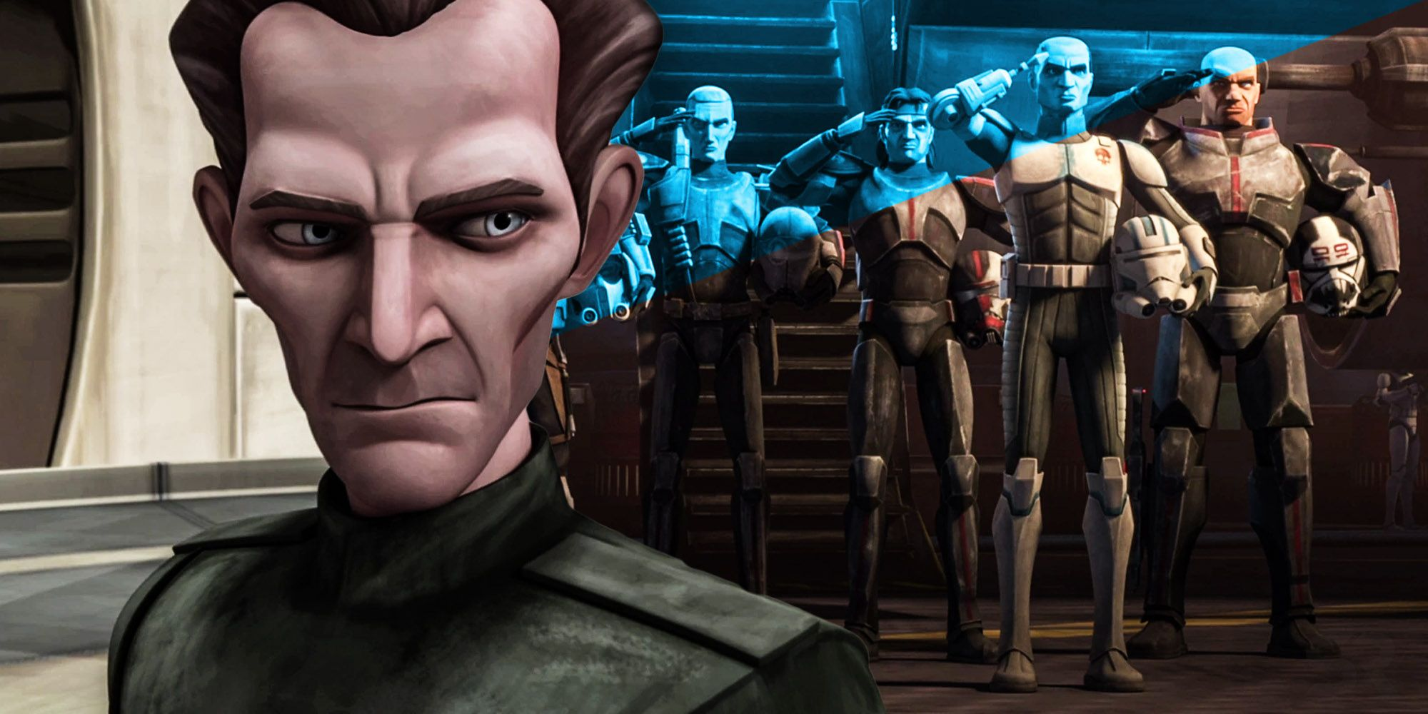 You have to watch episodes of clone wars before a bad series