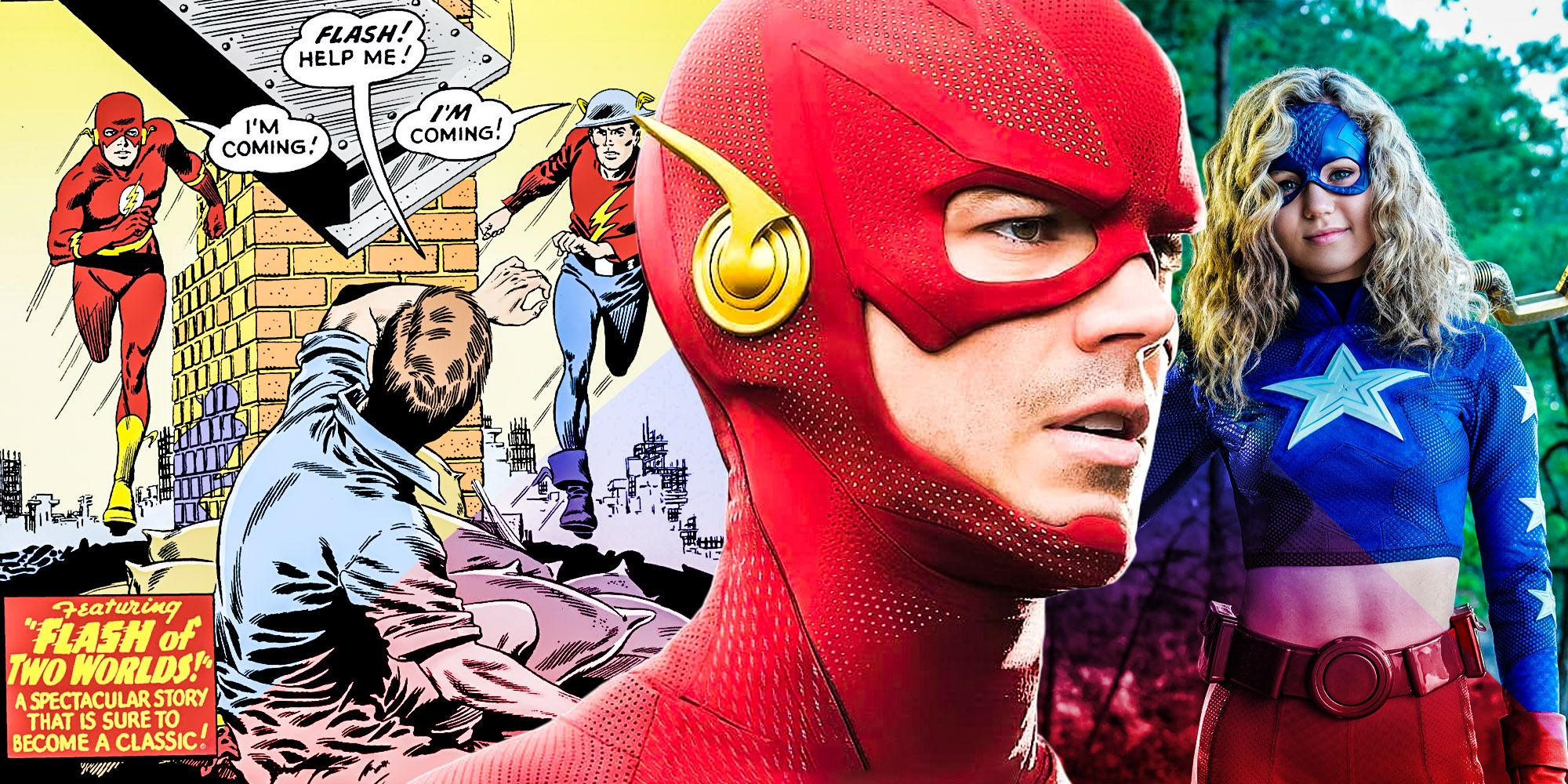 How Stargirl's Flash Crossover Can Lead To An Iconic Barry Allen Story