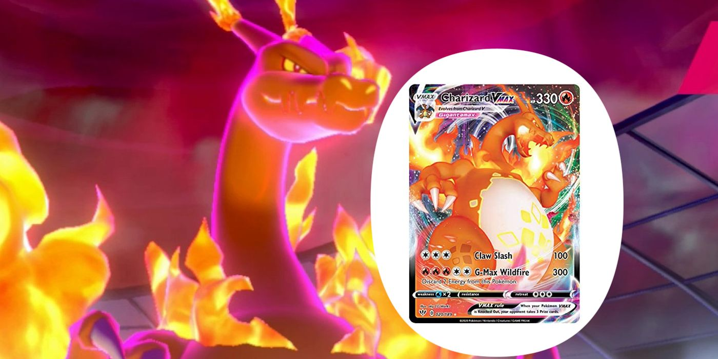 Every V and VMAX Card In The Pokémon Card Game   Screen Rant