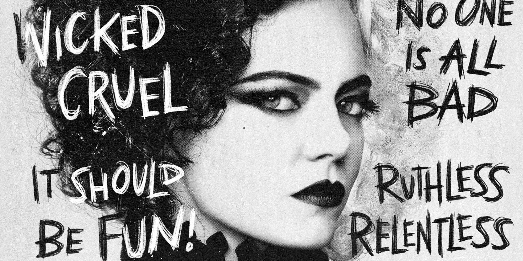 Cruella Gets Descriptive New Character Posters - Geeky Craze