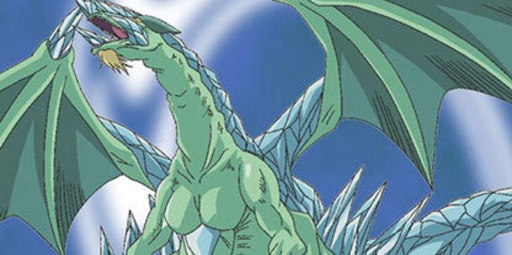 Yugioh Diamond Head Dragon Card Art